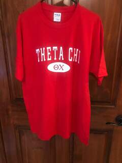 New Super Savings - Theta Chi Arch Tee - RED