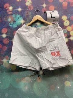 New Super Savings - Theta Chi Boxer Shorts - WHITE