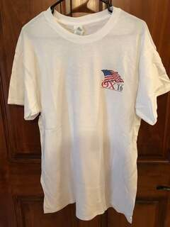 New Super Savings - Theta Chi Patriot Limited Edition Tee - WHITE
