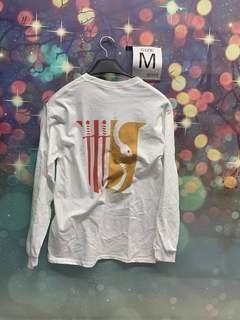 New Super Savings - Theta Chi World Famous Crest - Shield Long Sleeve T-Shirt - WHITE