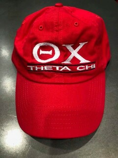 New Super Savings - Theta Chi World Famous Line Hat - RED 1 of 4