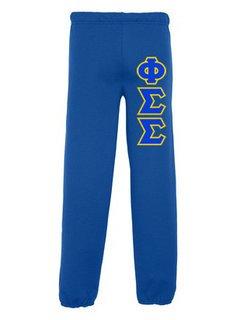 Phi Sigma Sigma Lettered Sweatpants
