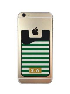 Sigma Alpha Watercolor Caddy Phone Wallet