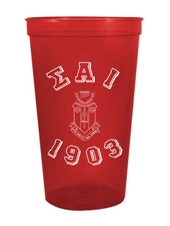 Sigma Alpha Iota Custom Greek Crest Est Stadium Cup