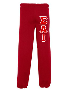 Sigma Alpha Iota Lettered Sweatpants