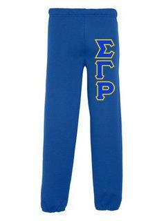 Sigma Gamma Rho Lettered Sweatpants