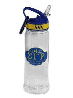 Sigma Gamma Rho Water Bottle W/Carabiner Hook