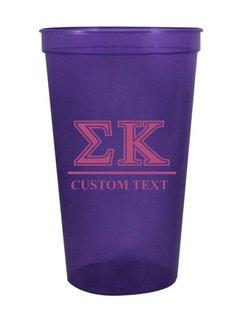Sigma Kappa Custom Greek Symbolized Stadium Cup