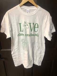 Super Savings - Alpha Epsilon Phi Love T-Shirt - WHITE