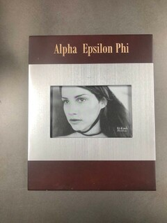 Super Savings - Alpha Epsilon Phi Picture Frame - RED WOOD