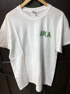 Super Savings - Alpha Kappa Alpha Crest - Shield T-Shirt - WHITE