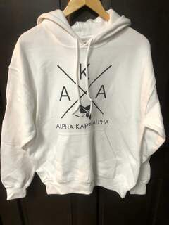 Super Savings - Alpha Kappa Alpha Sweatshirt - WHITE