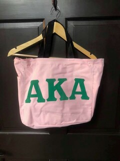 Super Savings - Alpha Kappa Alpha Tote Bag - PINK