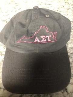 Super Savings - Alpha Sigma Tau State Hat - GREY 1 of 3