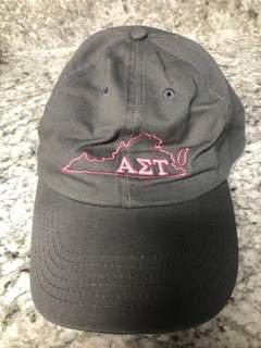 Super Savings - Alpha Sigma Tau State Hat - GREY