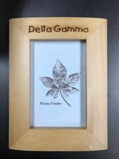 Super Savings - Delta Gamma Picture Frame - WOOD