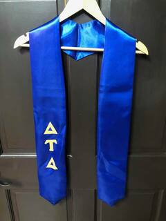 Super Savings - Delta Tau Delta Graduation Stole - BLUE