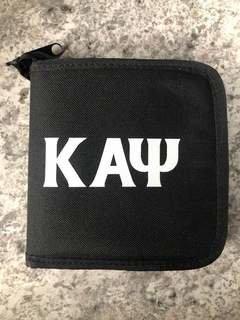 Super Savings - Kappa Alpha Psi CD Holder - BLACK