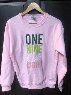 Super Savings - One Nine Oh Eight Crewneck Sweatshirt - PINK