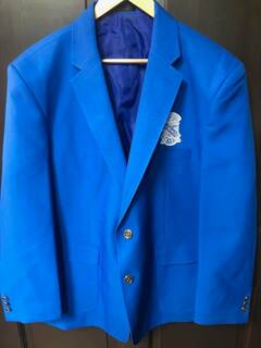 Super Savings - Phi Beta Sigma Crest - Shield Classic Blazer - BLUE