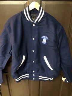 Super Savings - Phi Beta Sigma Varsity Crest Shield Jacket - NAVY