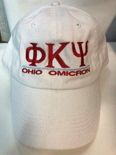 Super Savings - Phi Kappa Psi World Famous Line Hat - WHITE