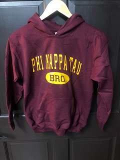 Super Savings - Phi Kappa Tau Bro Hoodie - MAROON