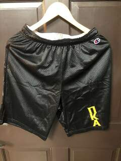 Super Savings - Pi Kappa Alpha Mesh Shorts - BLACK