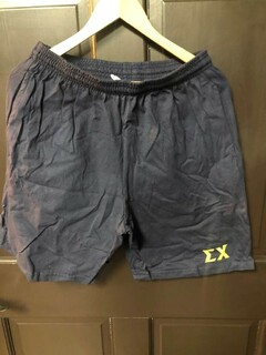 Super Savings - Sigma Chi Sweat Shorts - NAVY