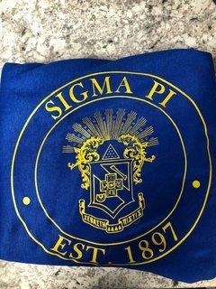 Super Savings - Sigma Pi Sweatshirt Blanket - BLUE