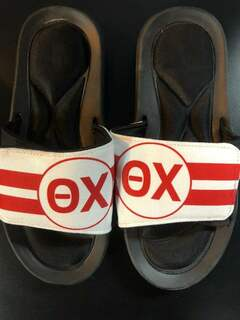 Super Savings - Theta Chi Slides - RED AND WHITE