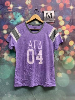 The New Super Savings - Alpha Gamma Delta 04 Jersey - PURPLE