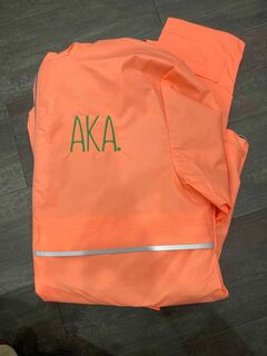 The New Super Savings - Alpha Kappa Alpha Rain Coat - CORAL