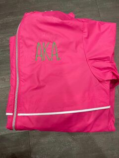 The New Super Savings - Alpha Kappa Alpha Rain Coat - PINK