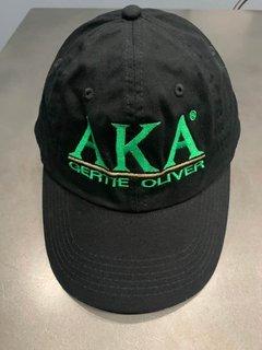 The New Super Savings - Alpha Kappa Alpha World Famous Line Hat - BLACK