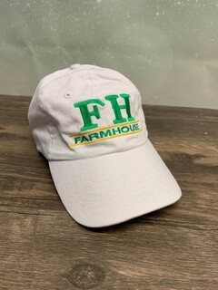 The New Super Savings - FarmHouse World Famous Line Hat - WHITE