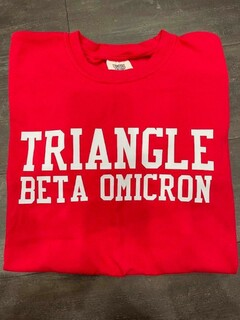 The New Super Savings - Triangle Comfort Colors Tee - RED