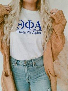 Theta Phi Alpha Comfort Colors Heavyweight T-Shirt