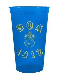 Theta Phi Alpha Custom Greek Crest Est Stadium Cup