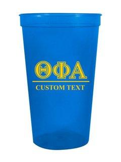 Theta Phi Alpha Custom Greek Symbolized Stadium Cup