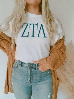 Zeta Tau Alpha University Greek T-Shirts