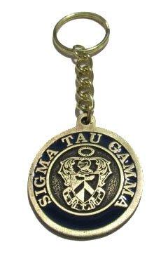 Sigma Tau Gamma Metal Fraternity Key Chain