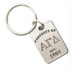 Alpha Gamma Delta Property Of Tag Keyring