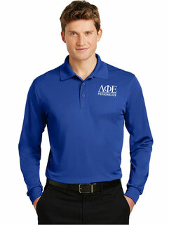 Lambda Phi Epsilon- $35 World Famous Long Sleeve Dry Fit Polo