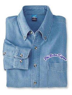 DISCOUNT-Phi Beta Sigma Denim Shirt - Rocker