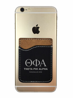 Theta Phi Alpha Leatherette Phone Wallet