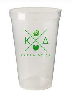 Kappa Delta Infinity Giant Plastic Cup