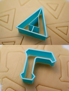 Delta Gamma Cookie Cutters