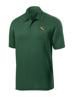 DISCOUNT-FarmHouse Fraternity- World Famous Greek Crest - Shield Contender Polo