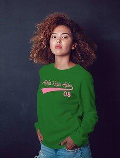 Alpha Kappa Alpha Tail Crewneck Sweatshirt